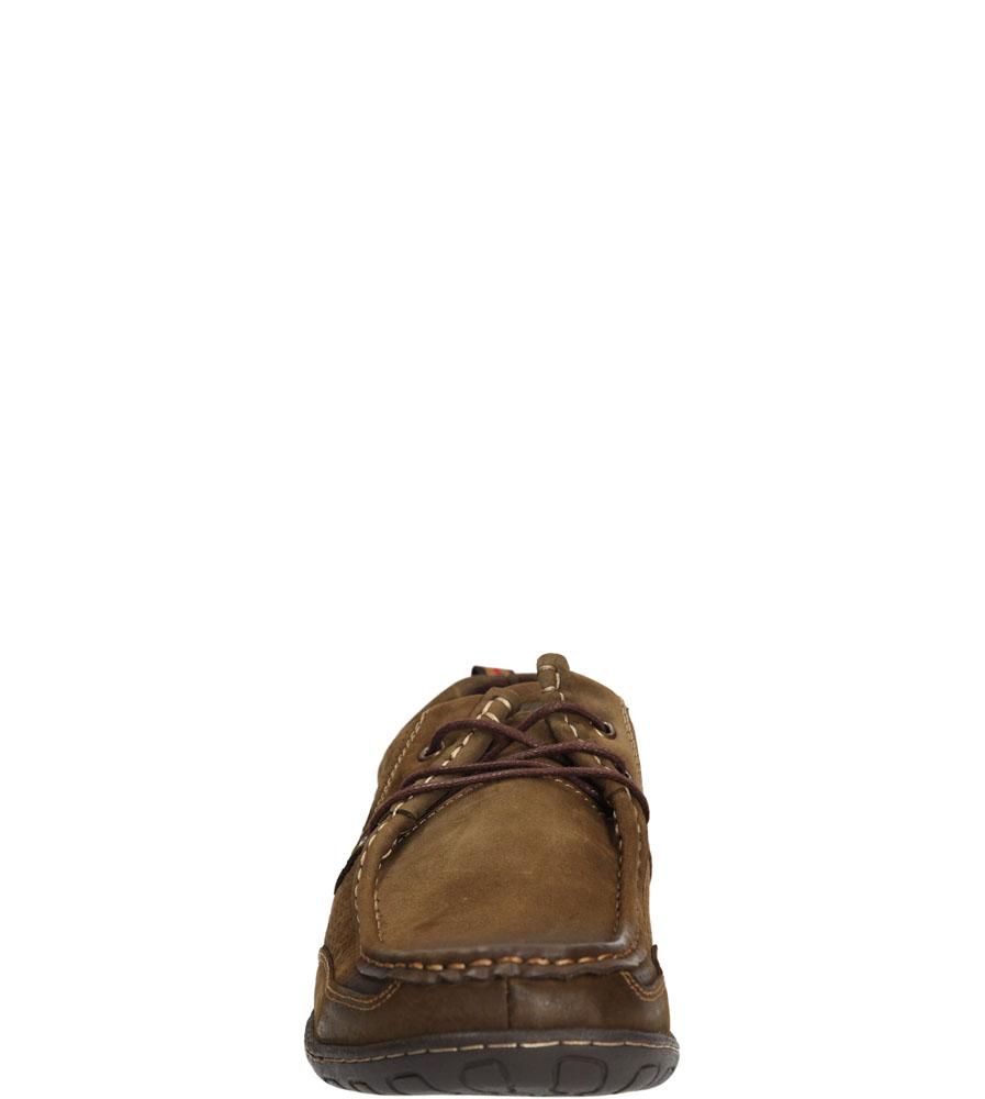 Męskie PÓŁBUTY AMERICAN SH4976-4 brązowy;;