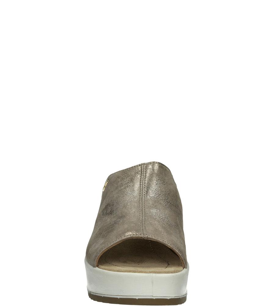 Damskie KLAPKI IGI&CO 58066/00 DCD1 beżowy;srebrny;