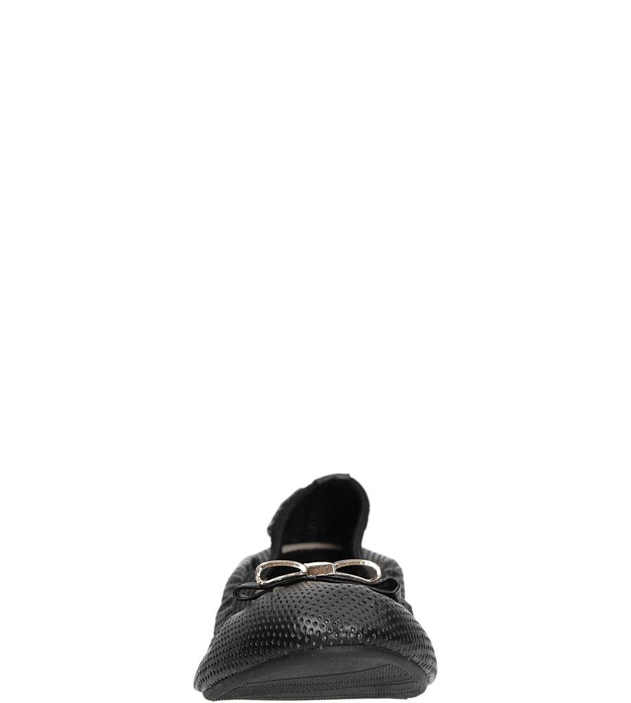 BALERINY VINCEZA R15-D-P-524-BK kolor czarny