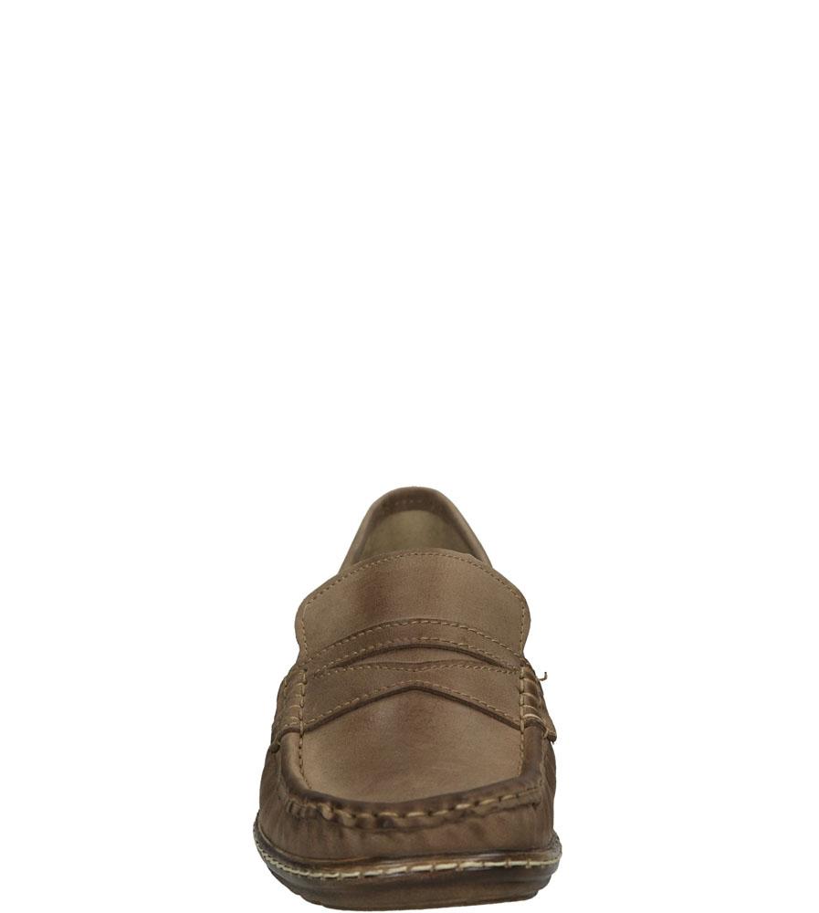 MOKASYNY GINO FABIANI 1532 kolor cappucino