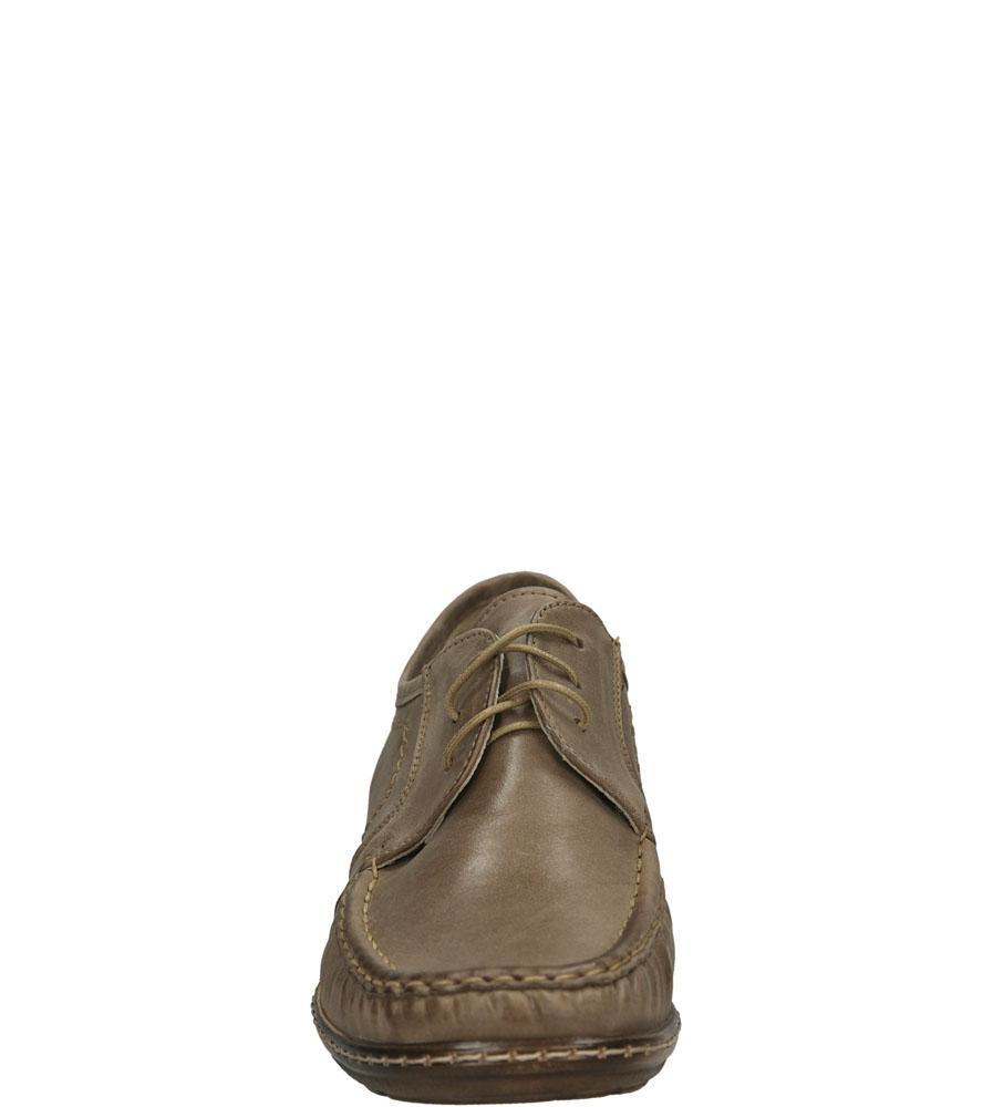 PÓŁBUTY GINO FABIANI 1553 kolor cappucino