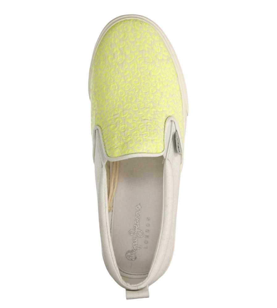 SLIP ON PEPE JEANS PGS30187 wys_calkowita_buta 8 cm