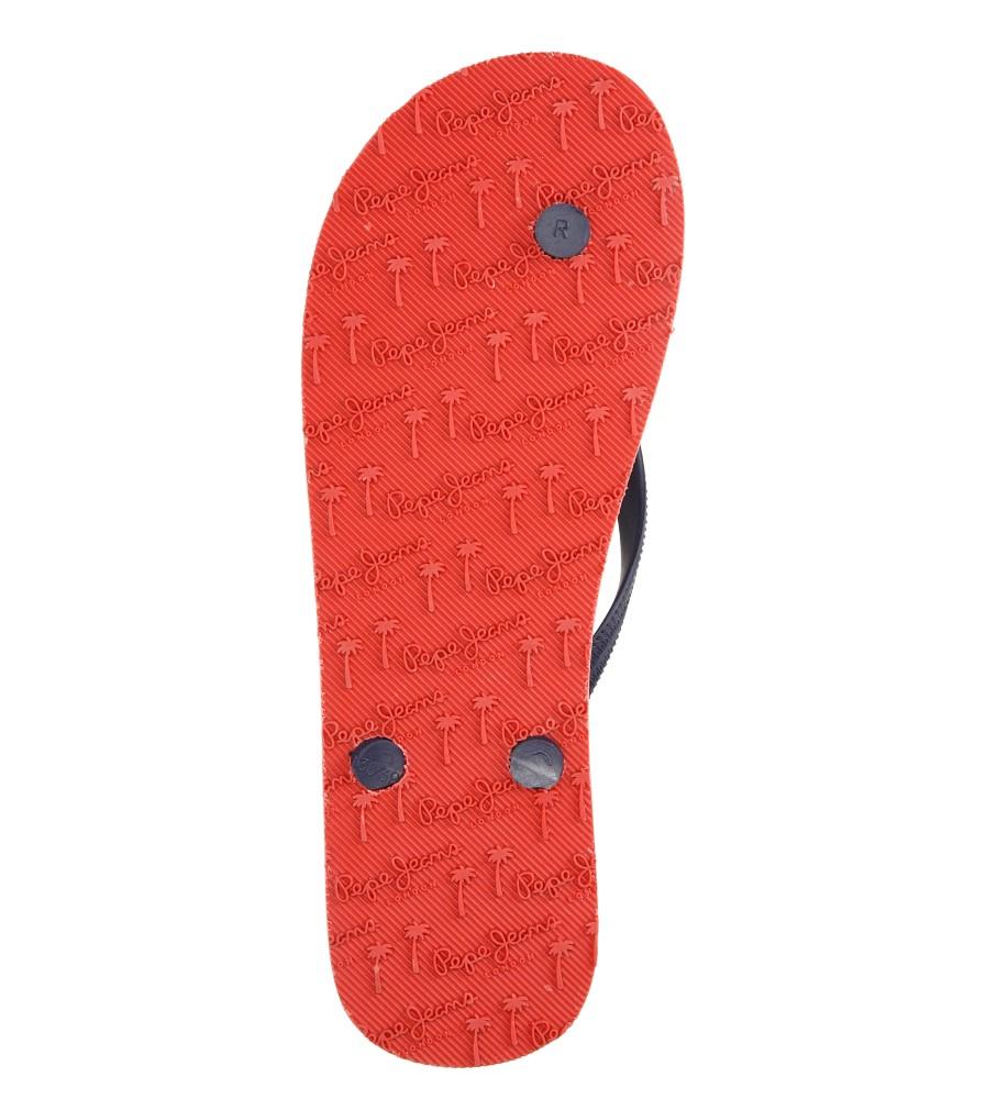 Damskie JAPONKI PEPE JEANS PLS70019 niebieski;czerwony;biały
