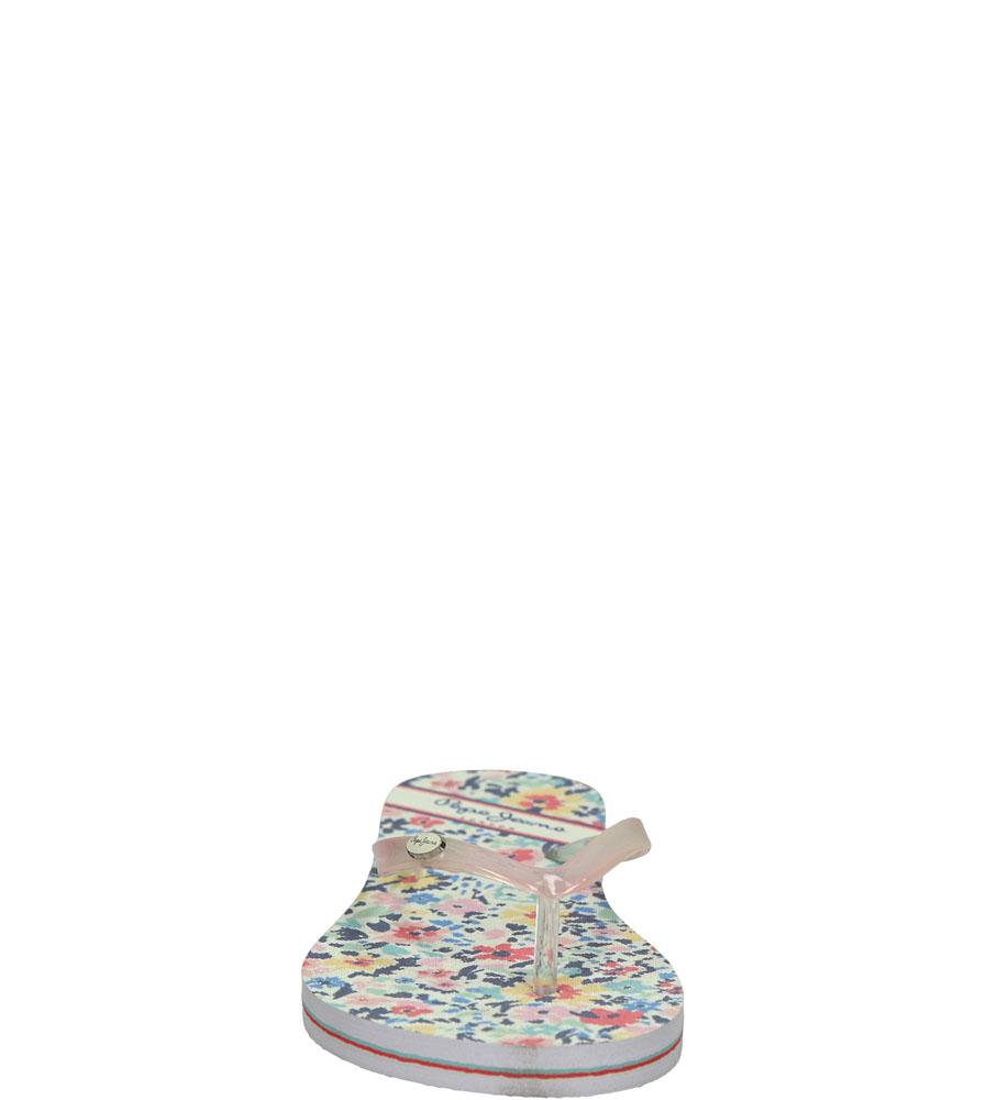Damskie JAPONKI PEPE JEANS PLS70016 różowy;multikolor;