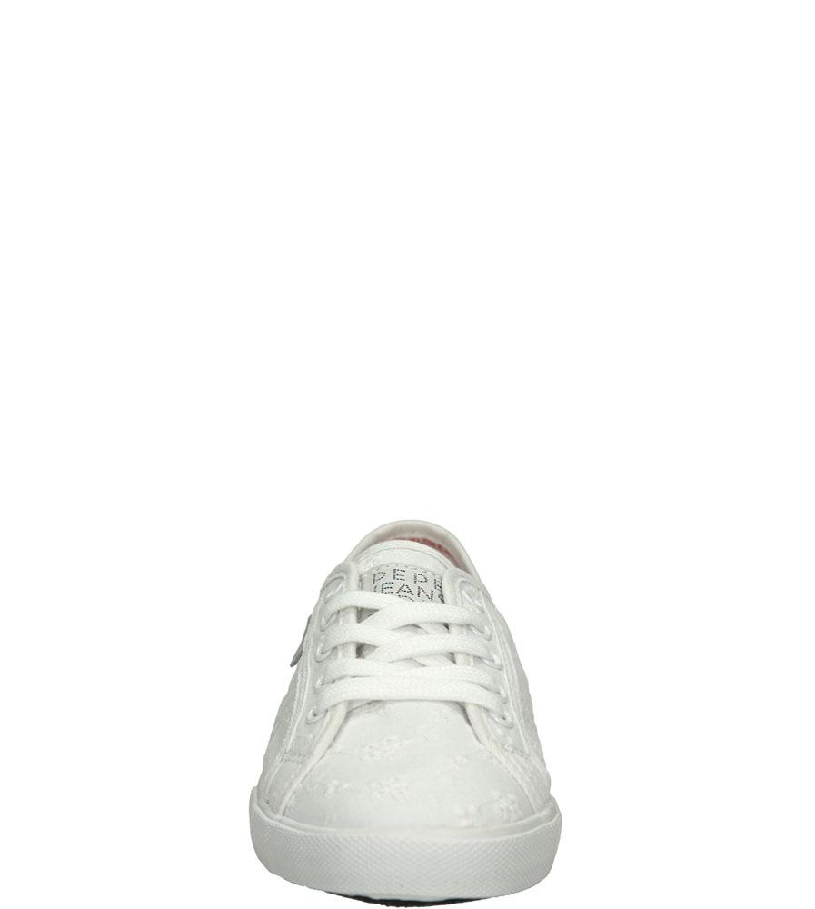 Damskie TRAMPKI PEPE JEANS PLS30087 biały;;
