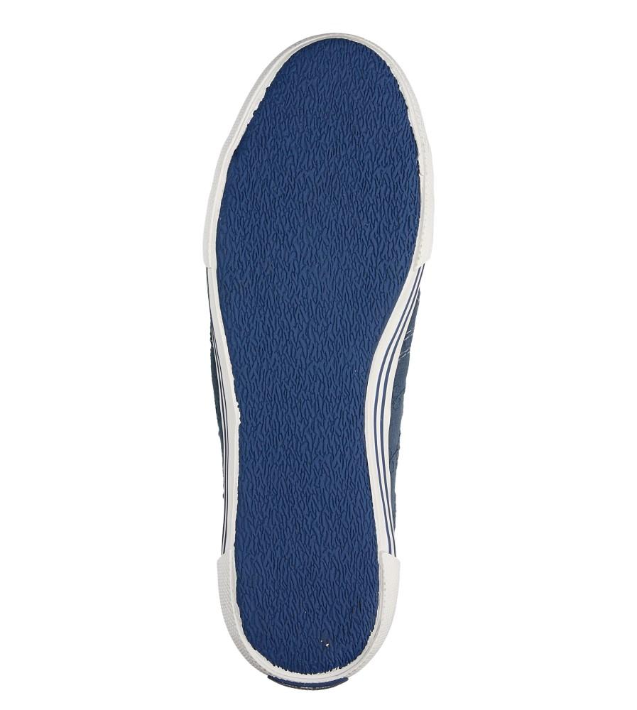 Damskie TRAMPKI PEPE JEANS PLS30087 niebieski;;