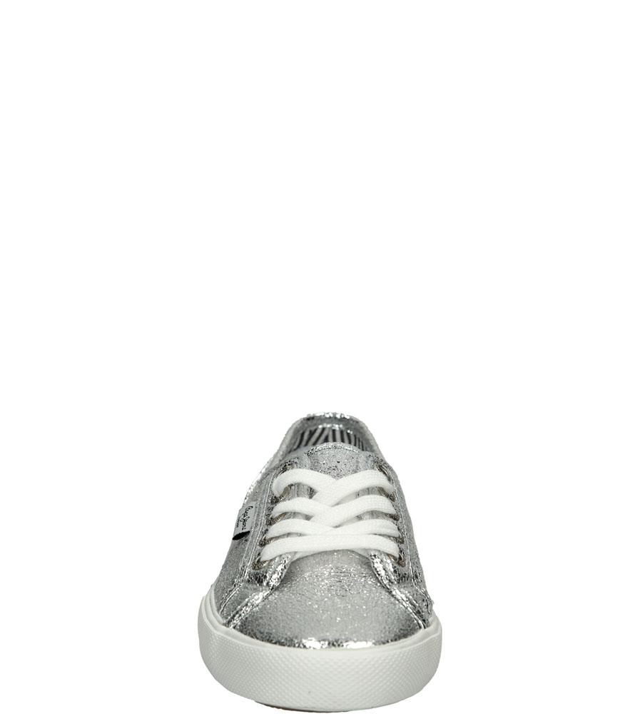 TRAMPKI PEPE JEANS PLS30251 kolor srebrny