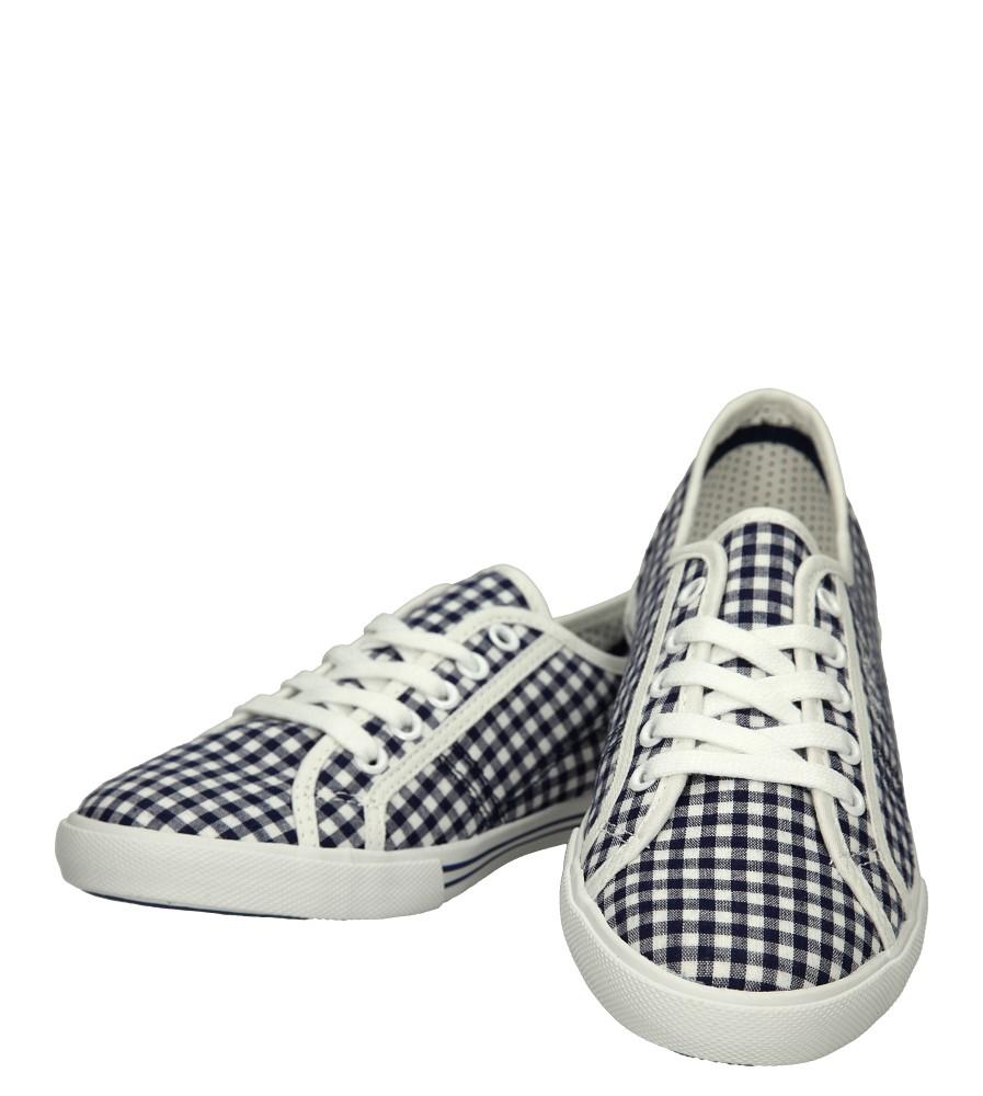 Damskie TRAMPKI PEPE JEANS PLS30255 niebieski;biały;
