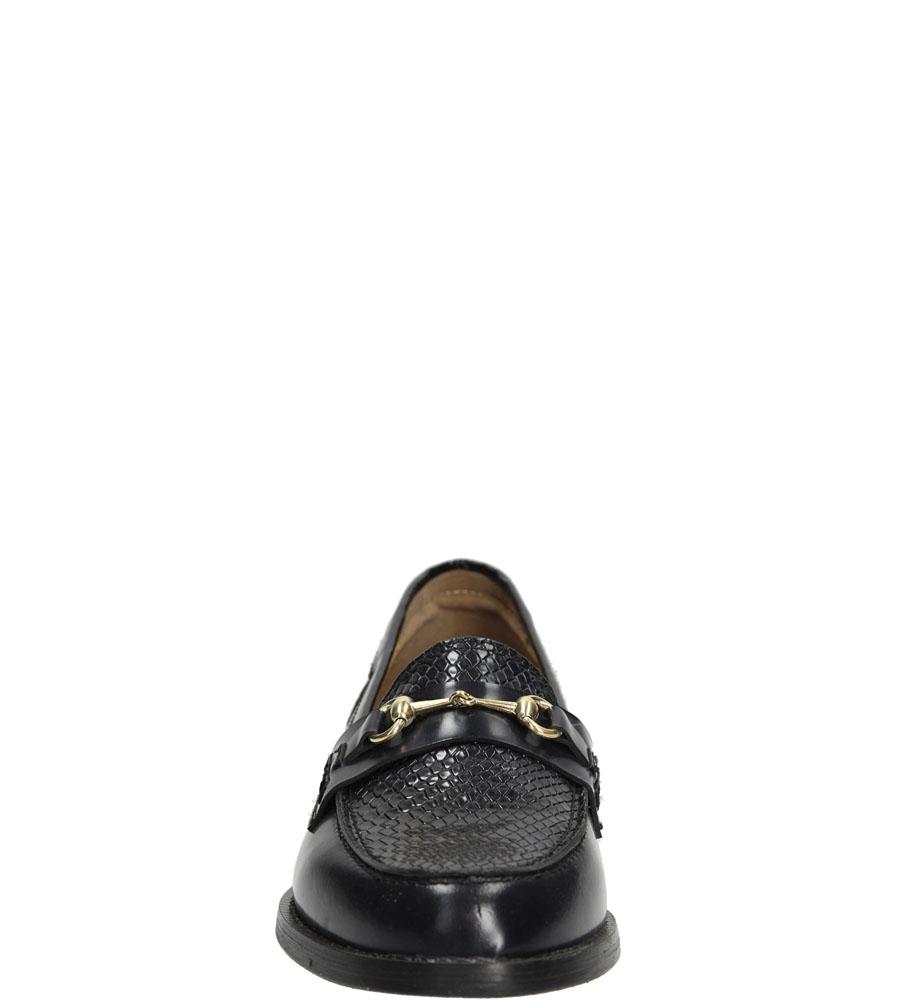 MOKASYNY NESSI 75606 kolor granatowy
