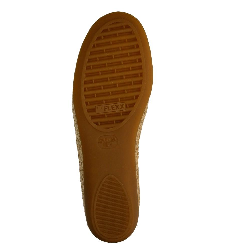 Damskie ESPADRYLE THE FLEXX RAPID A101/08 brązowy;brązowy;