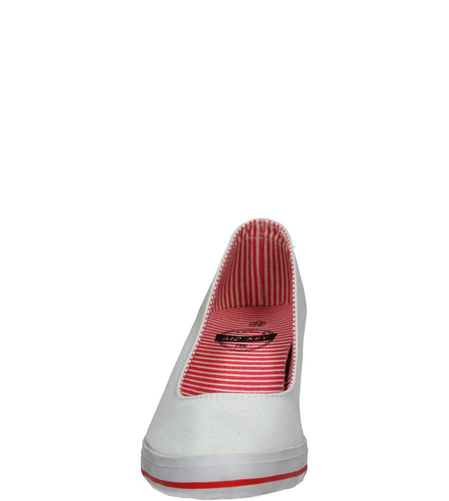Damskie TRAMPKI MCKEY R15-D-TN-620 biały;;