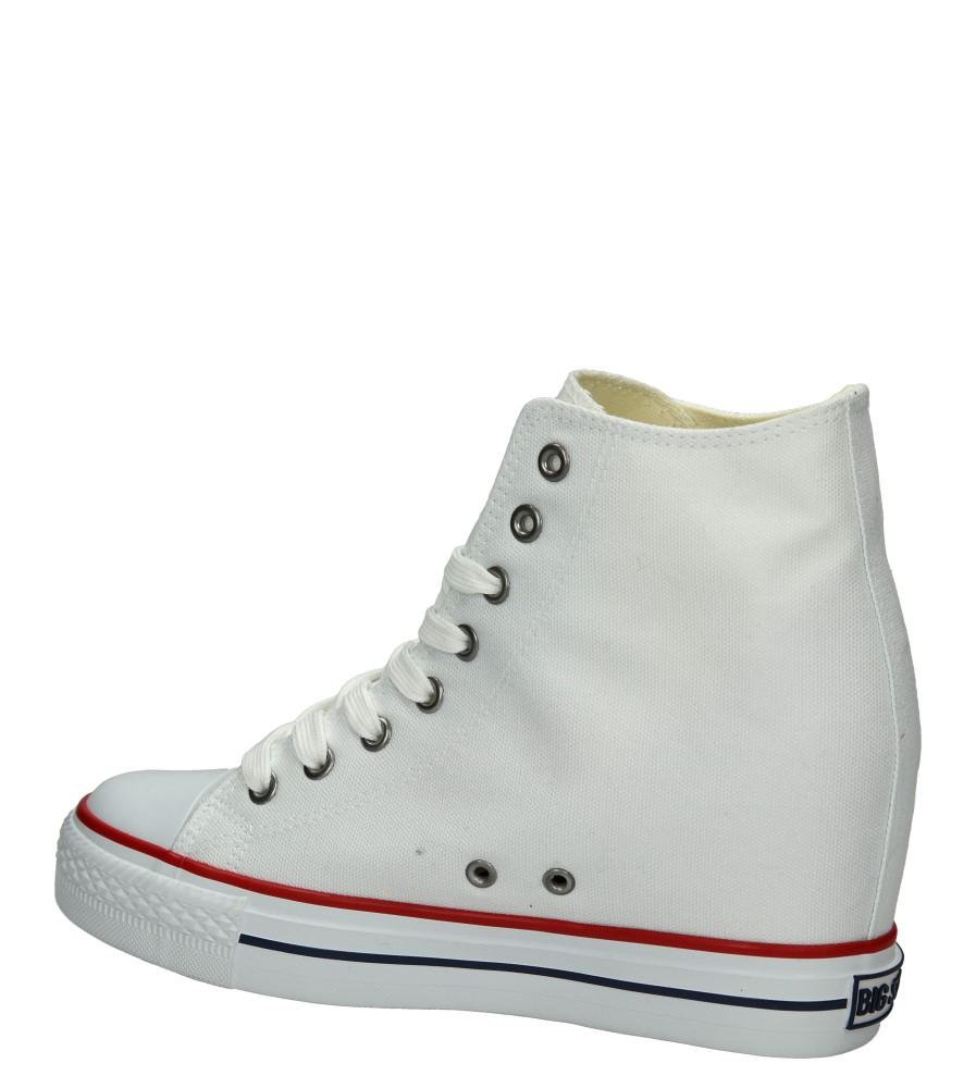 Damskie TRAMPKI BIG STAR U27490 biały;;