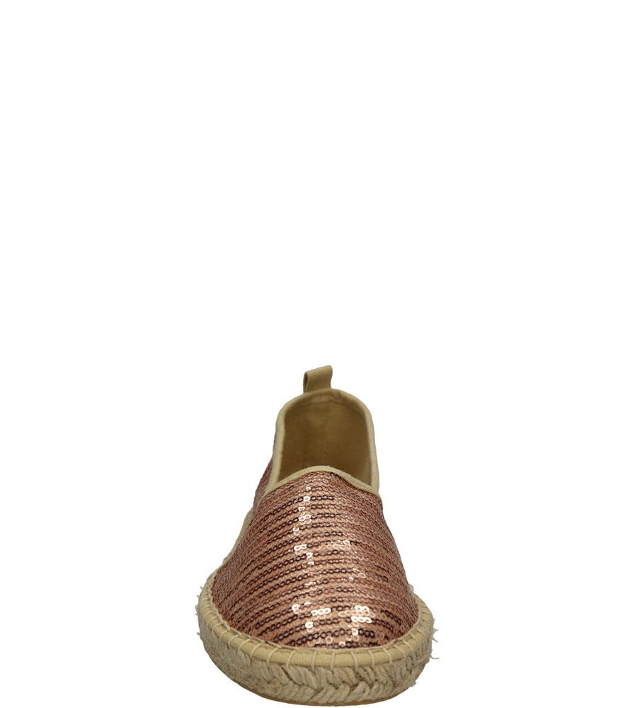 Damskie ESPADRYLE TAMARIS 1-24231-26 różowy;;