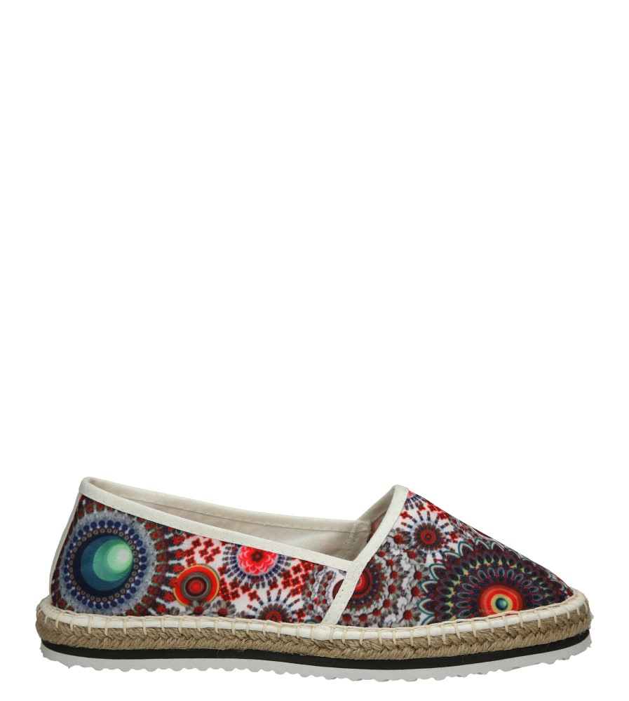 Damskie ESPADRYLE TAMARIS 1-24613-26 multikolor;;