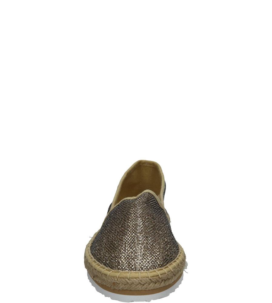 Damskie ESPADRYLE TAMARIS 1-24613-26 srebrny;;
