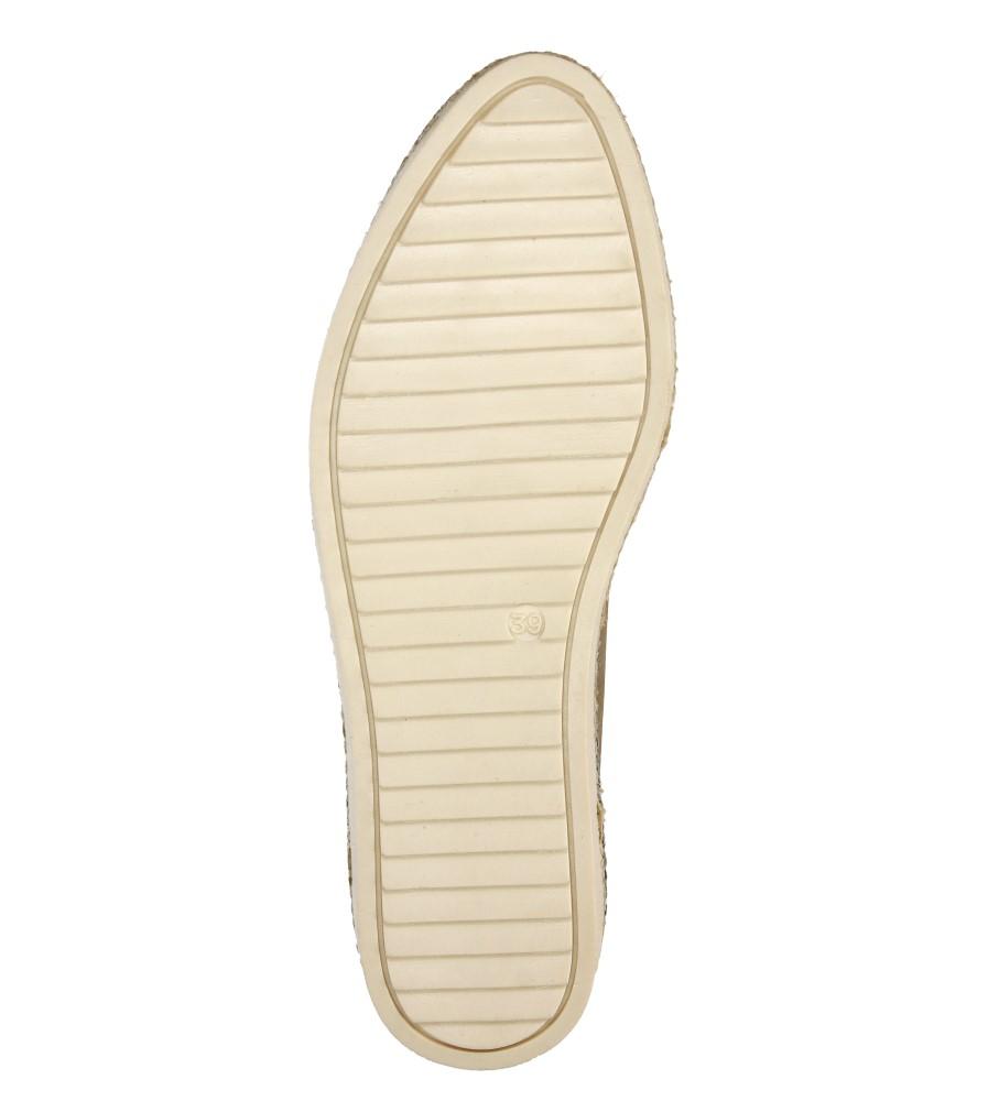 Damskie SLIP ON TAMARIS 1-24628-26 beżowy;;