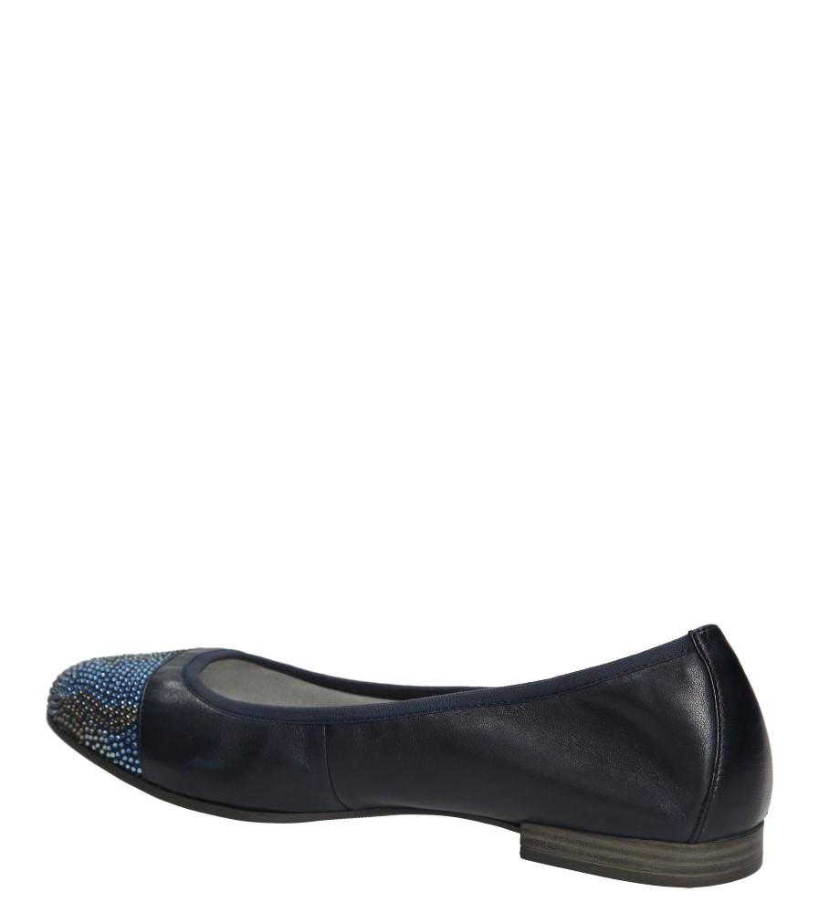 Damskie BALERINY S.OLIVER 5-22116-26 niebieski;;