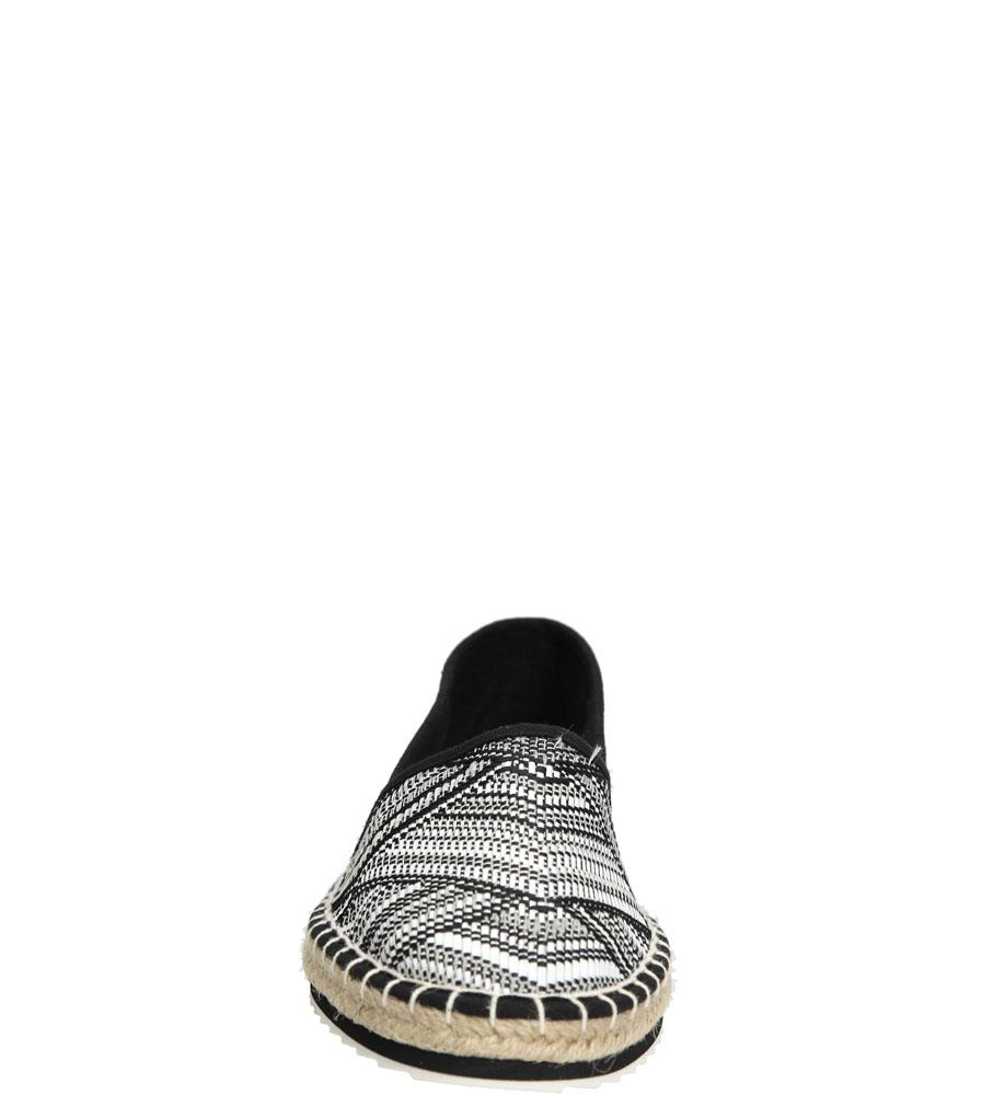 Damskie ESPADRYLE MARCO TOZZI 2-24203-26 czarny;biały;