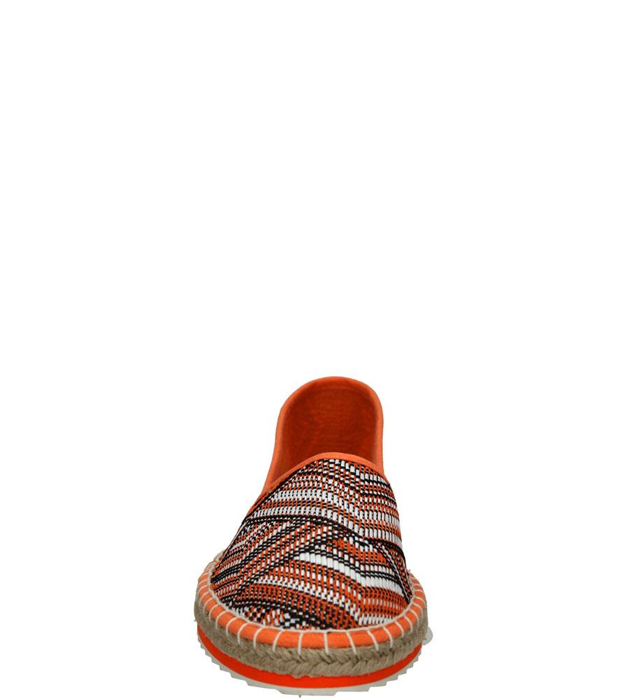 ESPADRYLE MARCO TOZZI 2-24203-26 kolor multi kolor, pomarańczowy