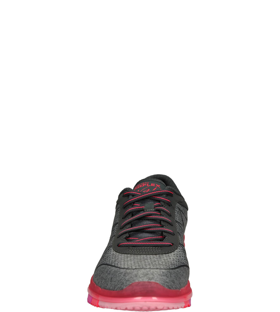 SPORTOWE SKECHERS 14011 kolor różowy, szary