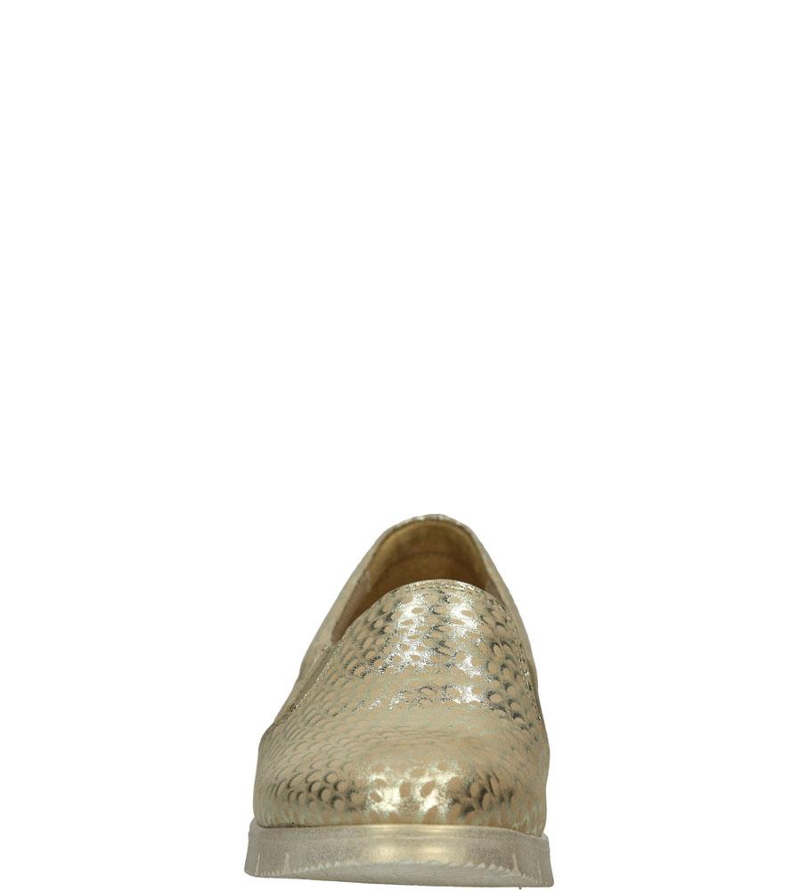 SLIP ON CASU 3151 kolor złoty