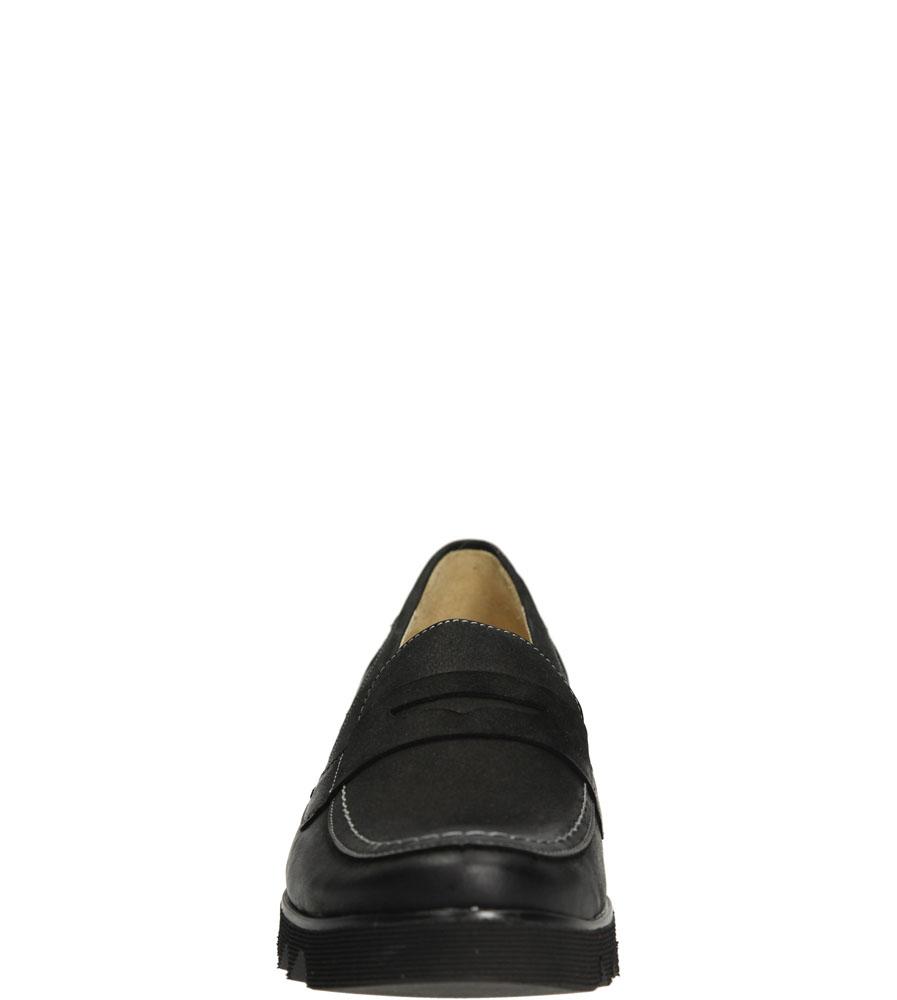 MOKASYNY CASU 3003 kolor czarny