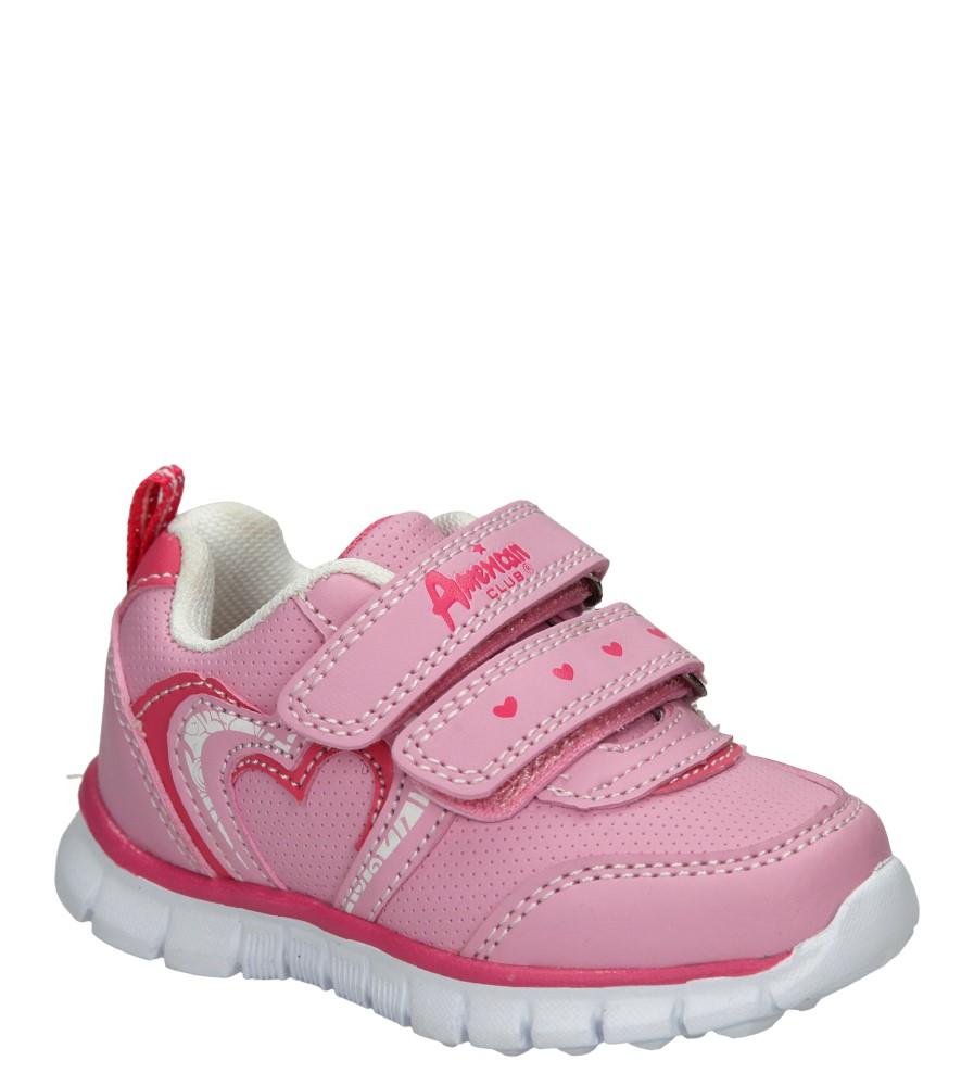 Dziecięce SPORTOWE AMERICAN CA51-A15345B-1 różowy;;