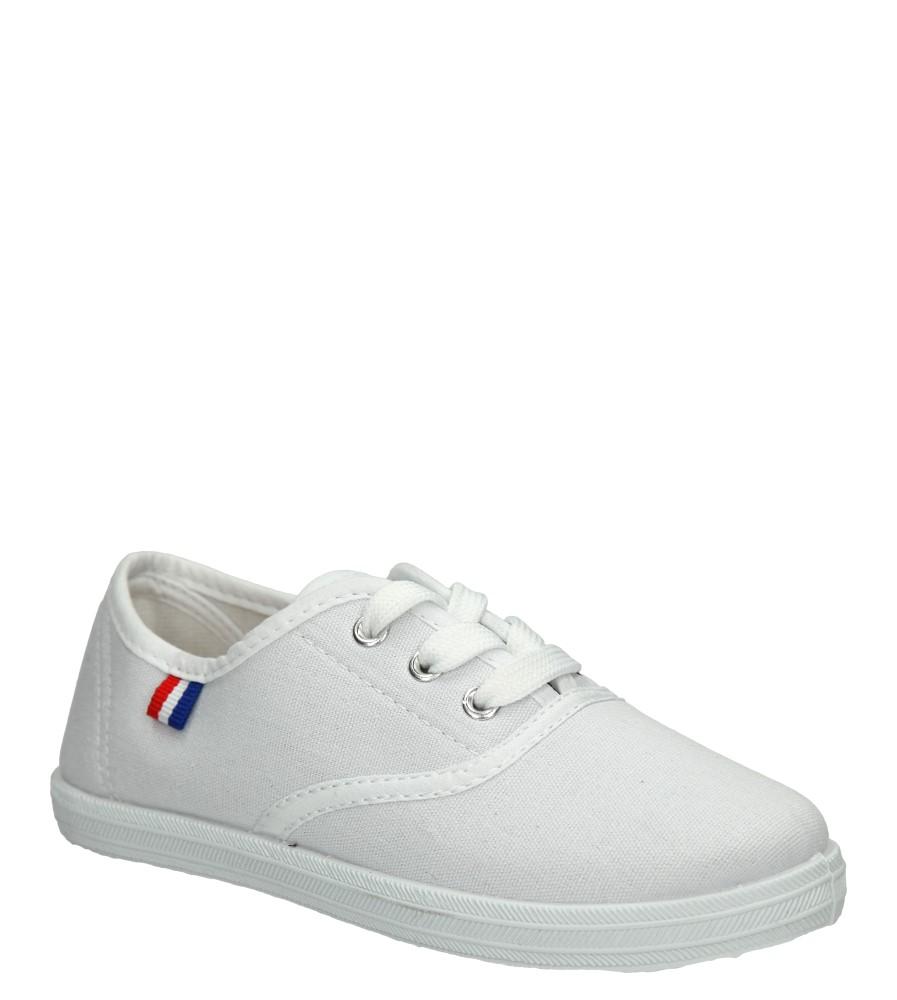 Dziecięce TRAMPKI AMERICAN CA283-05770 biały;;