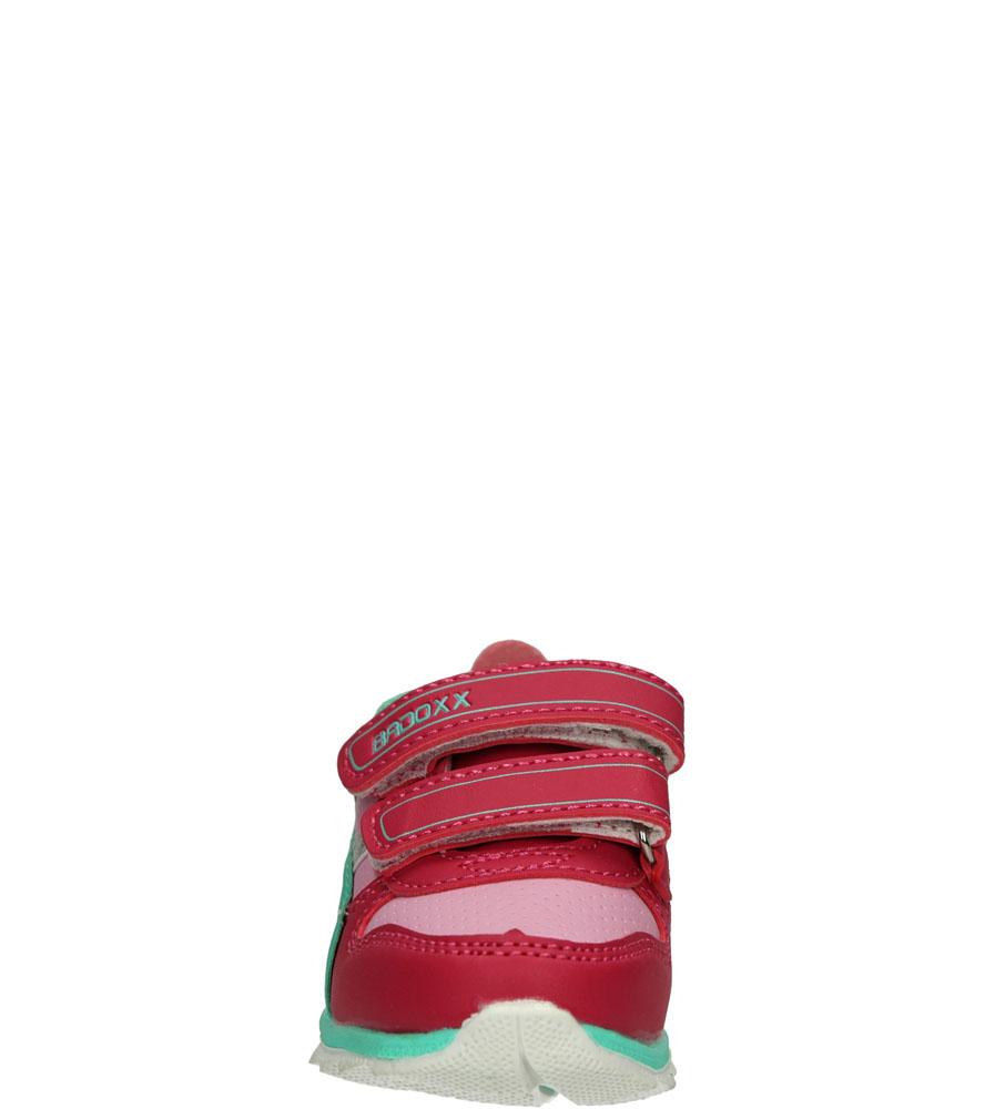 Dziecięce SPORTOWE 1XC7151 różowy;zielony;