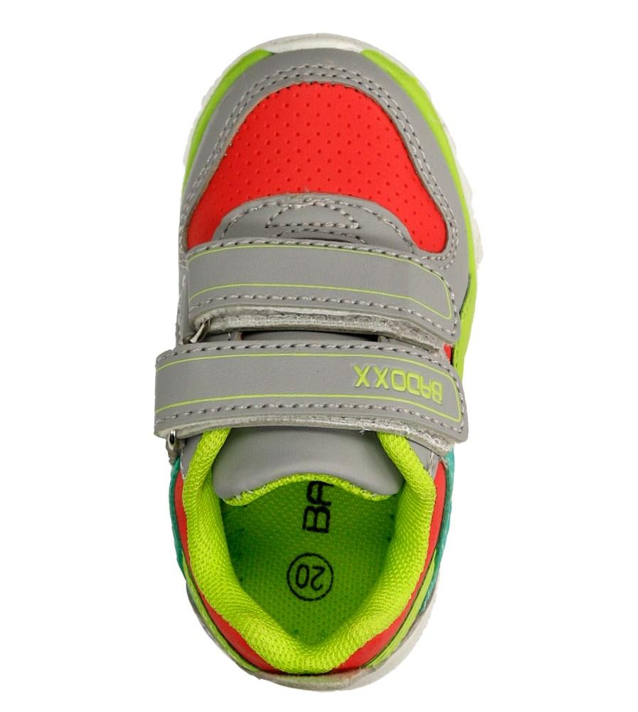 Dziecięce SPORTOWE 1XC7151 czerwony;zielony;