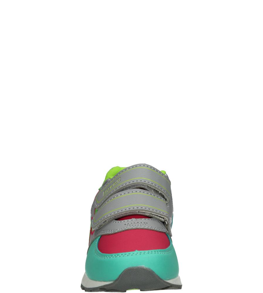 Dziecięce SPORTOWE 3XC7152 zielony;różowy;zielony