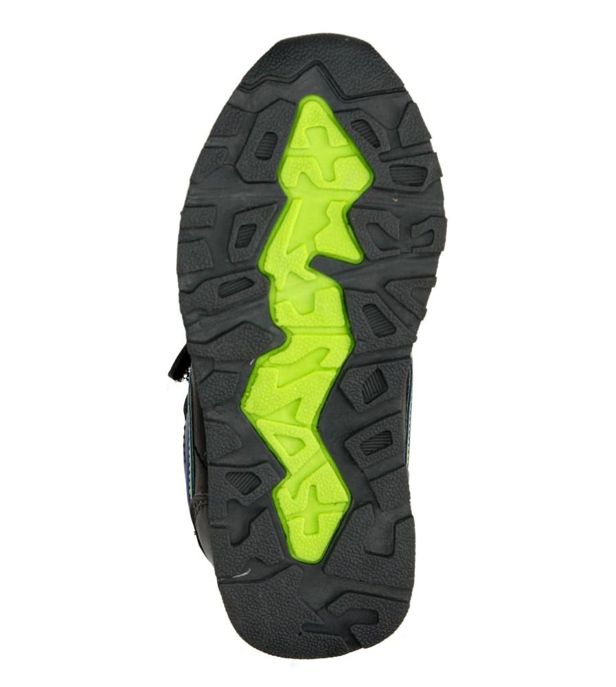 Dziecięce SPORTOWE 3XC7053 szary;czarny;zielony