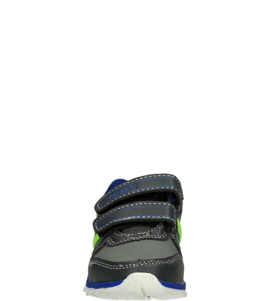 Dziecięce SPORTOWE 1XC7053 szary;niebieski;zielony