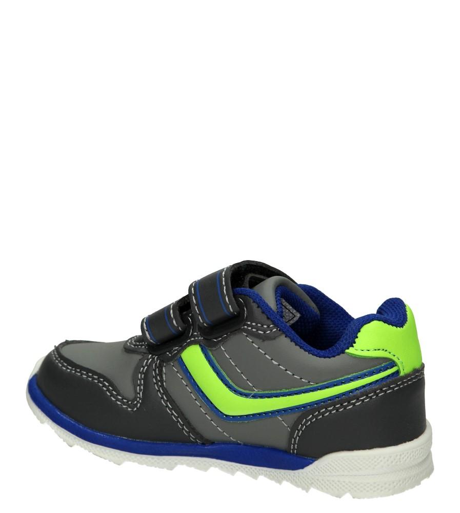 SPORTOWE 1XC7053 kolor niebieski, szary, zielony