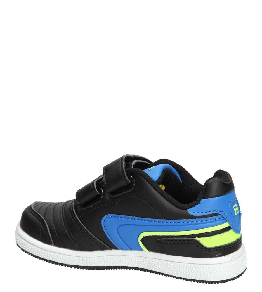Dziecięce PÓŁBUTY 3XC6200 czarny;niebieski;zielony