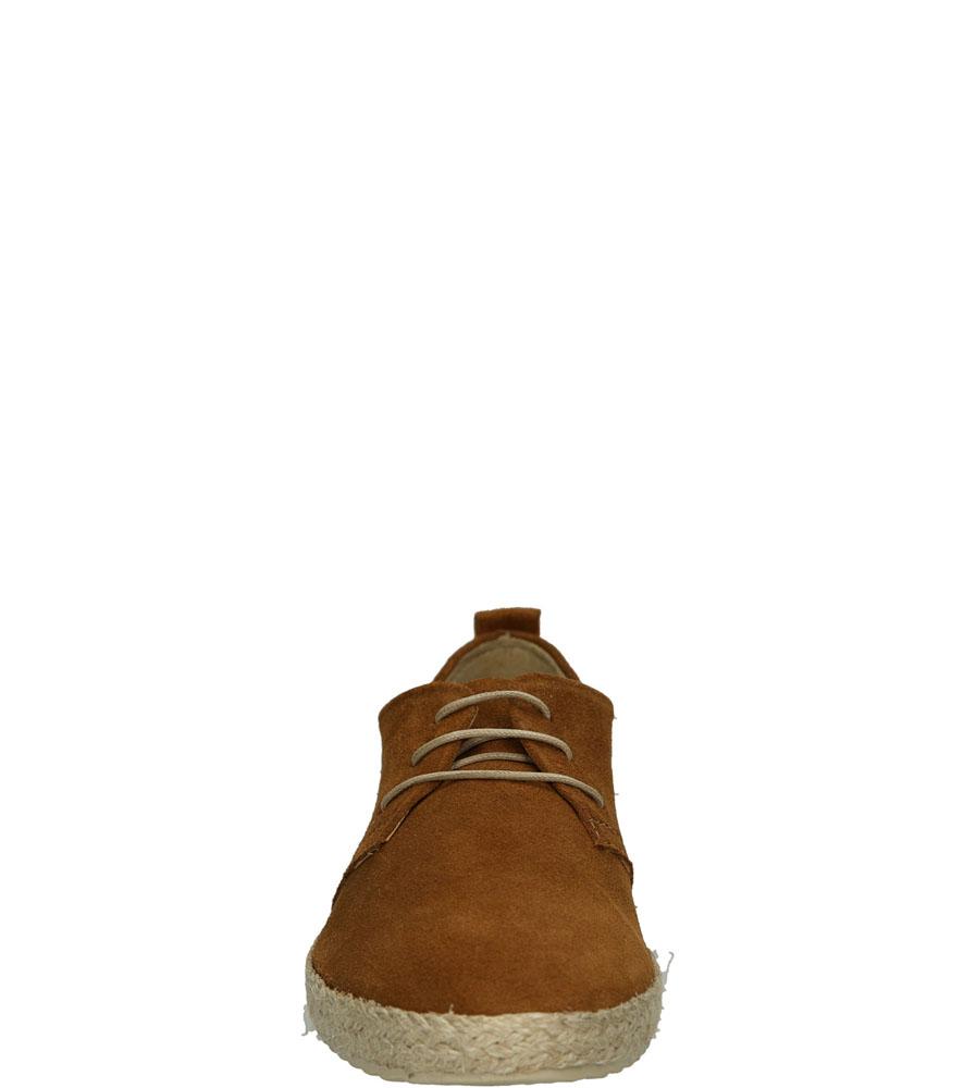 ESPADRYLE TAMARIS 1-23623-26 kolor brązowy