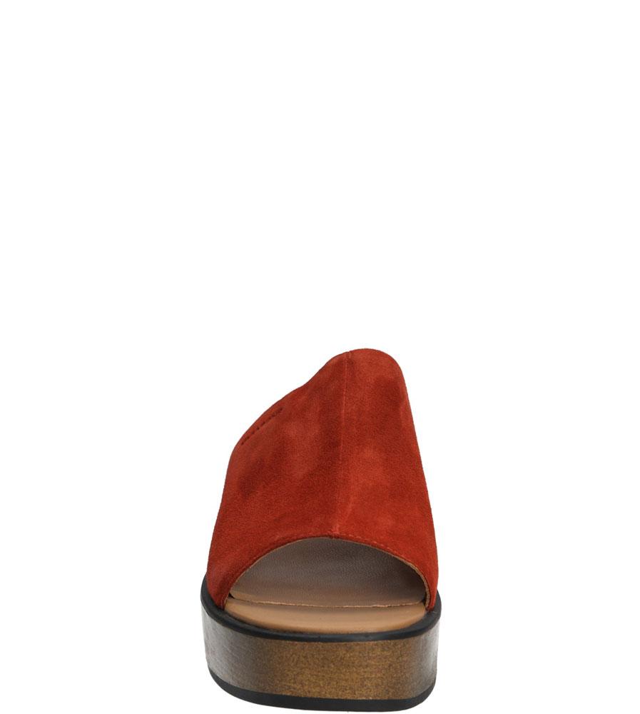 KLAPKI VAGABOND NOOR 4136-140-48 kolor brązowy