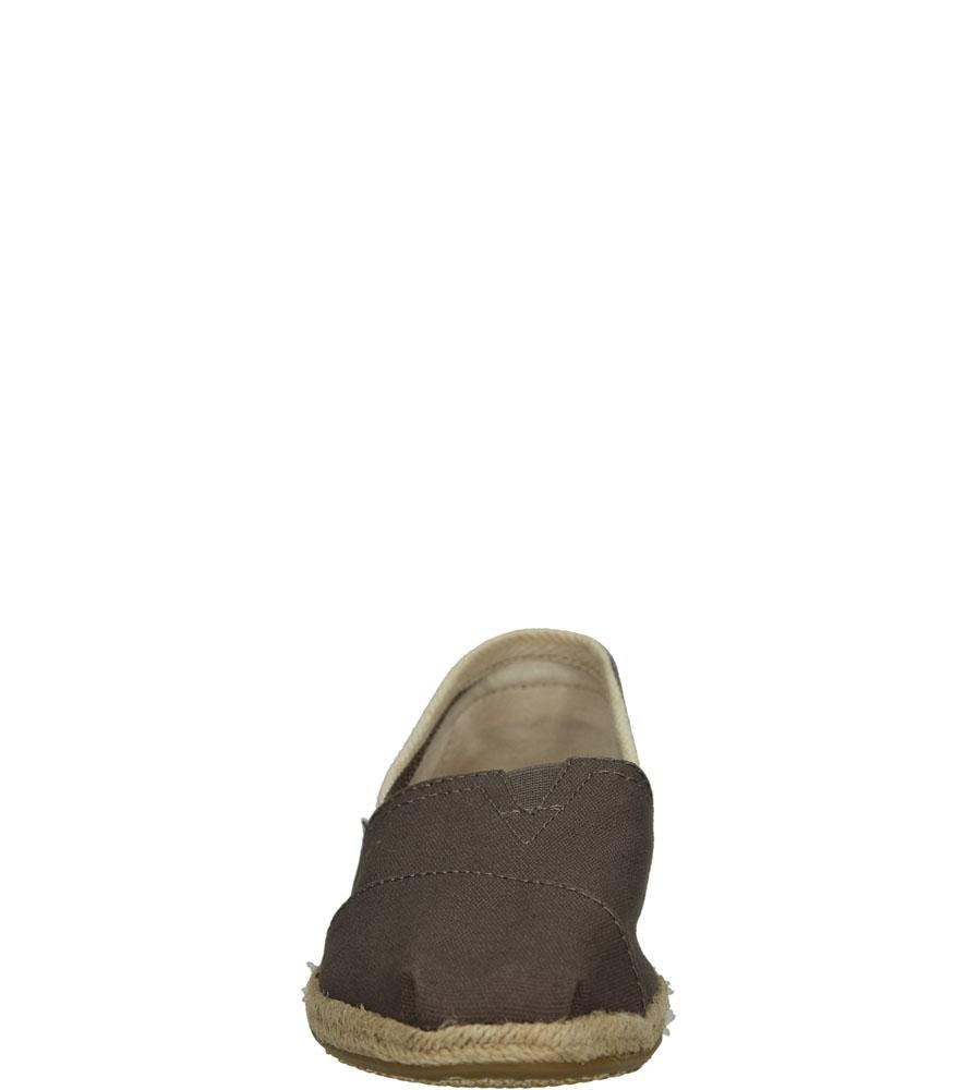 Damskie ESPADRYLE TOMS CLASSIC CANVAS 100005417 brązowy;;