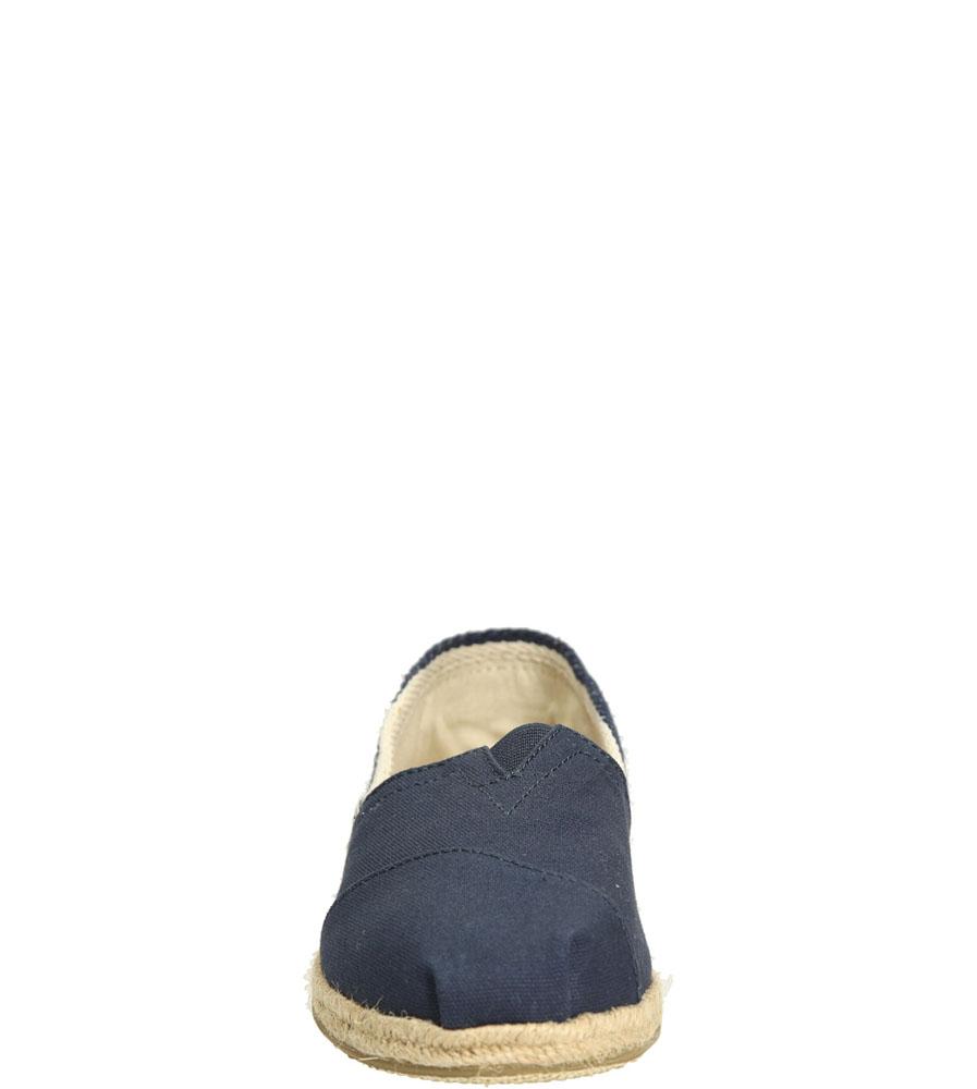 ESPADRYLE TOMS CLASSIC UNIVERSITY 10005419 kolor ciemny niebieski