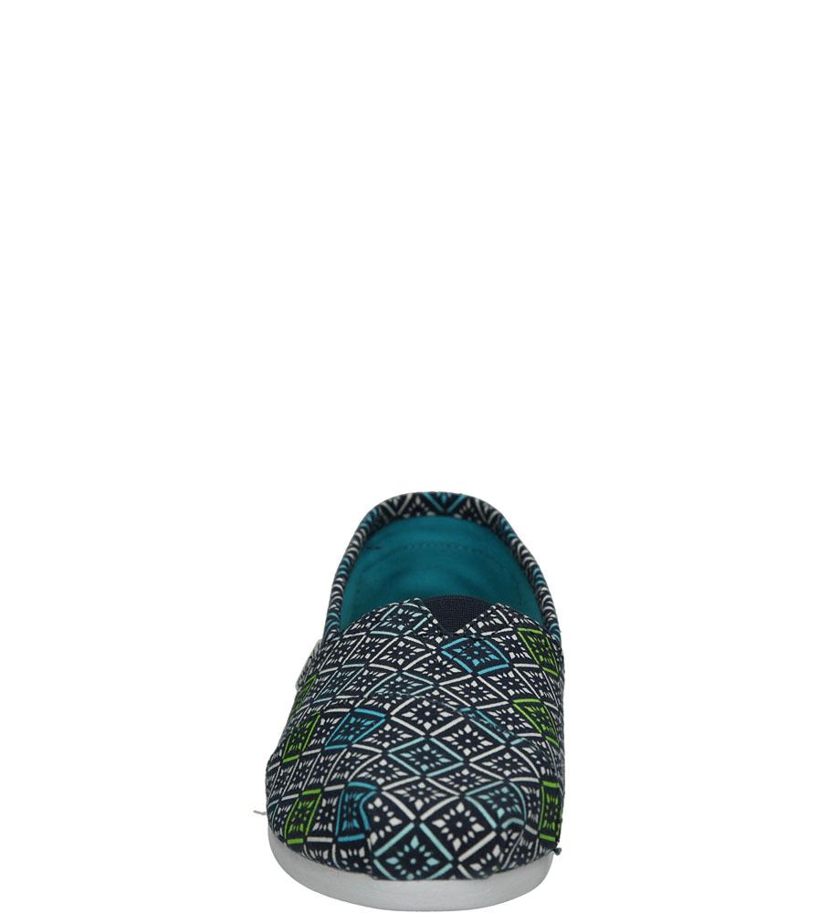 Damskie TOMSY TOMS CLASSIC CANVAS VINTAGE TILE 10008019 niebieski;biały;niebieski