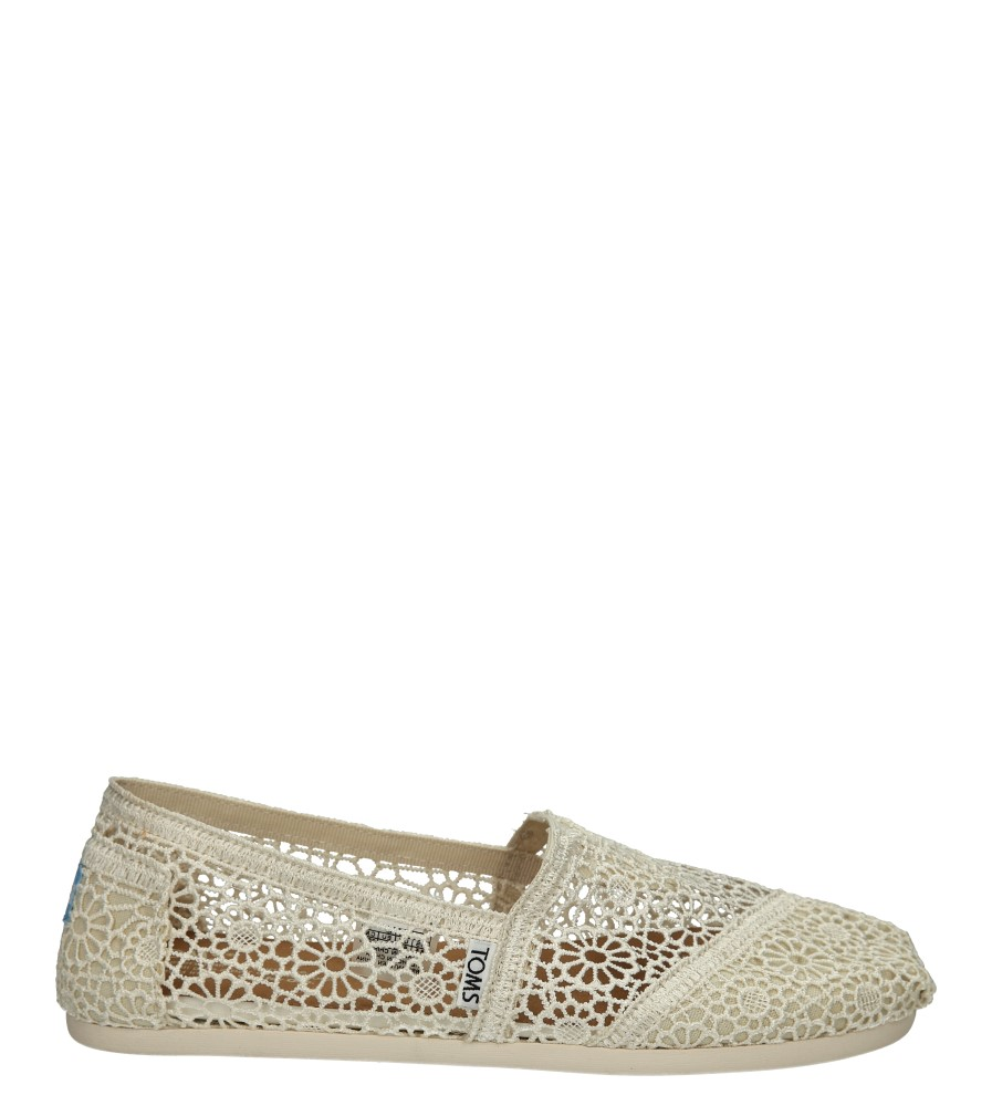 TOMSY TOMS CLASSIC NATURAL 10007858 sezon Wczesna wiosna