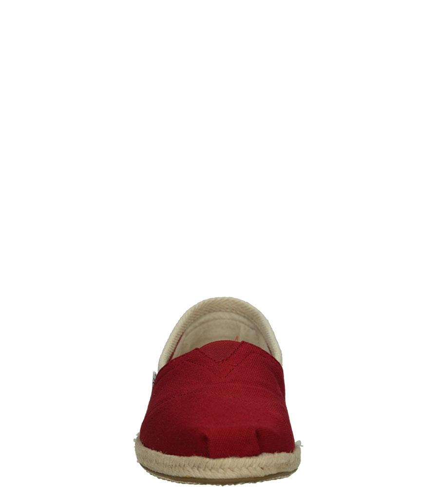 Damskie ESPADRYLE TOMS CLASSIC UNIVERSITY 100005421 czerwony;;