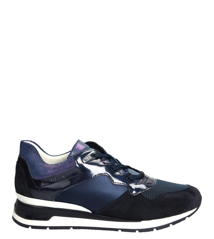 Damskie SPORTOWE GEOX D44N1A 02211 niebieski;;