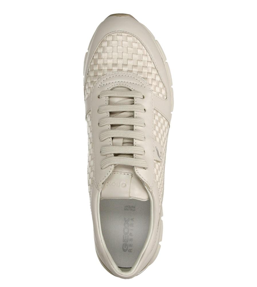 Damskie SPORTOWE GEOX D52F2A OZI43 biały;;