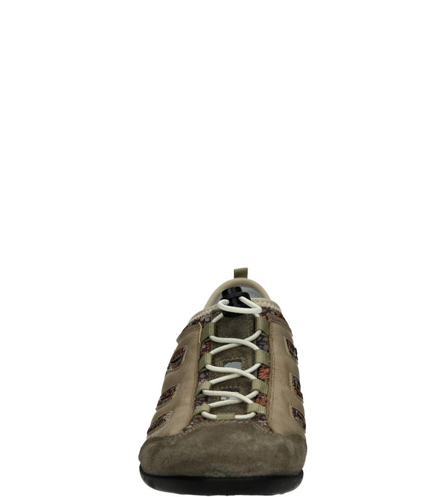 Damskie SPORTOWE RIEKER 59567-26 beżowy;;
