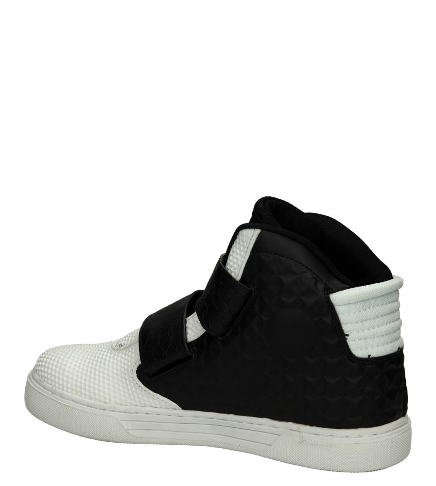 Męskie SPORTOWE CASU C2016-4 biały;czarny;