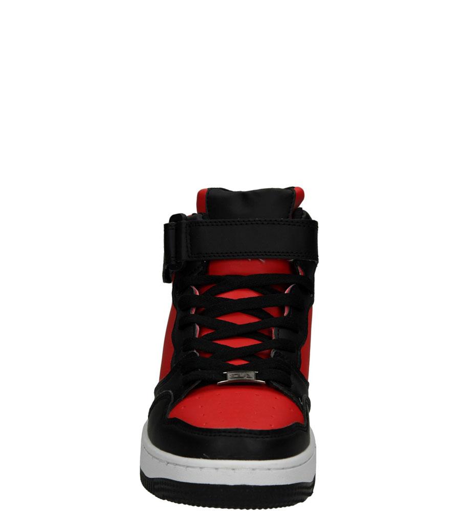 SPORTOWE CASU C6006H-6 kolor czarny, czerwony
