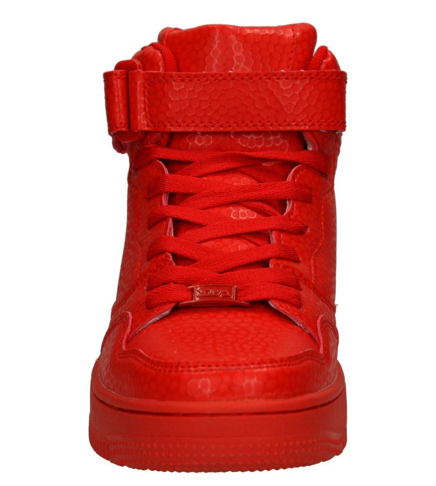 SPORTOWE C6018F-3 kolor czerwony