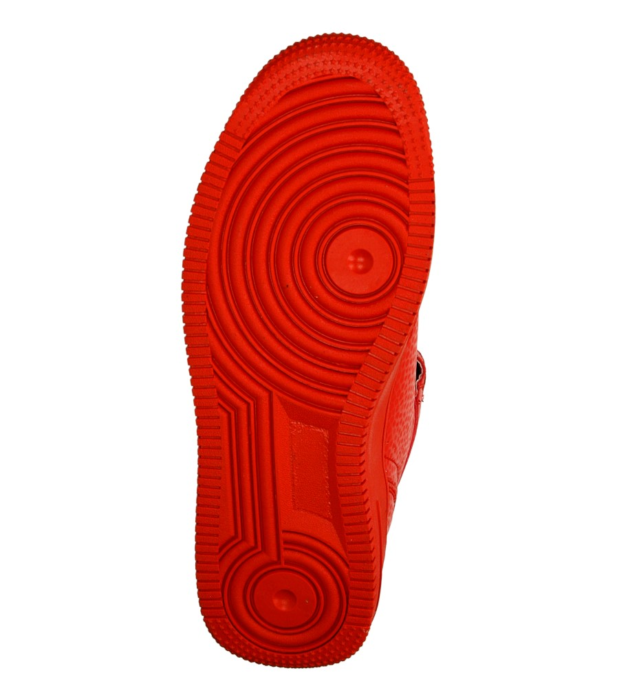 Damskie SPORTOWE C6018F-3 czerwony;;
