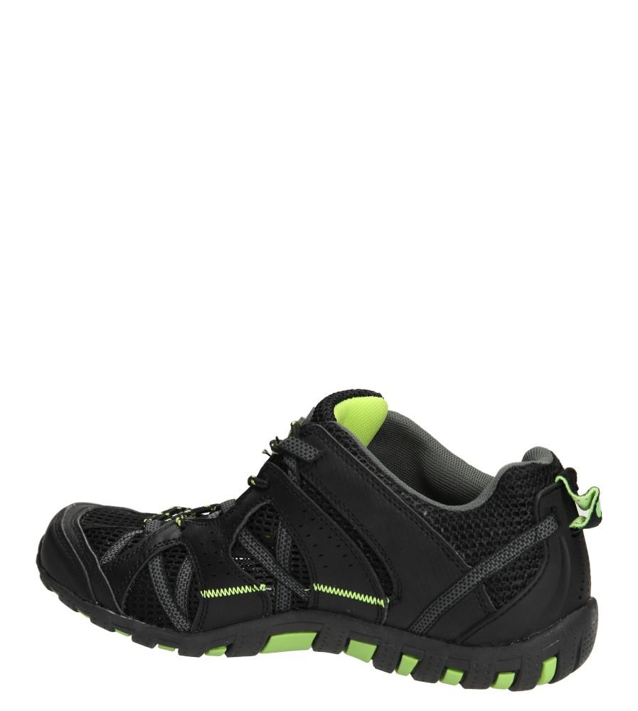 SPORTOWE CASU H650 kolor czarny, zielony
